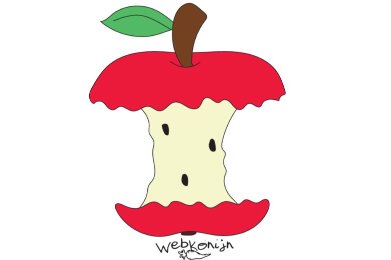 Appeltje eten