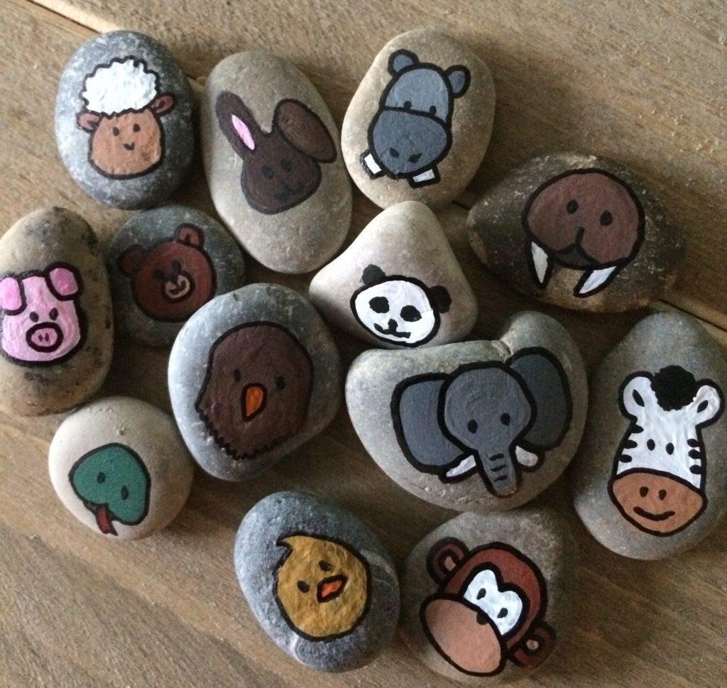 Story stones dieren