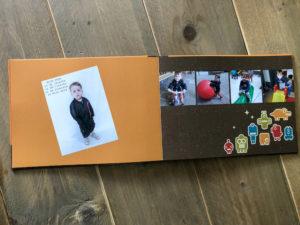 Fotoboek binnenkant