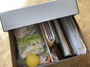 Inhoud Memorybox