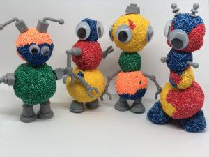 Foam Robots