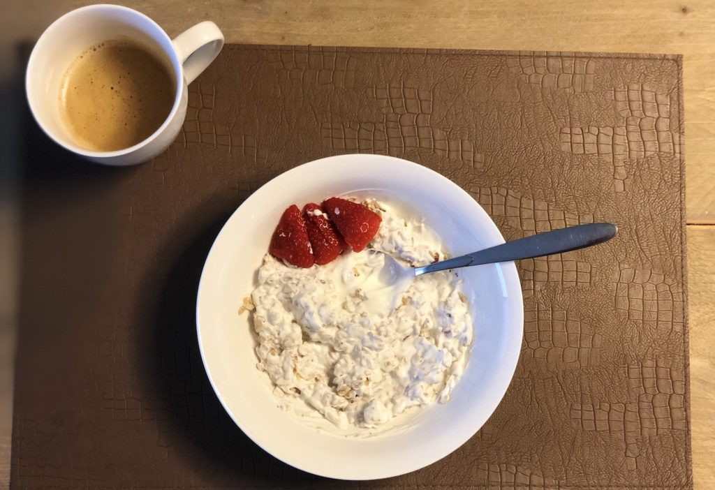 Granola ontbijt