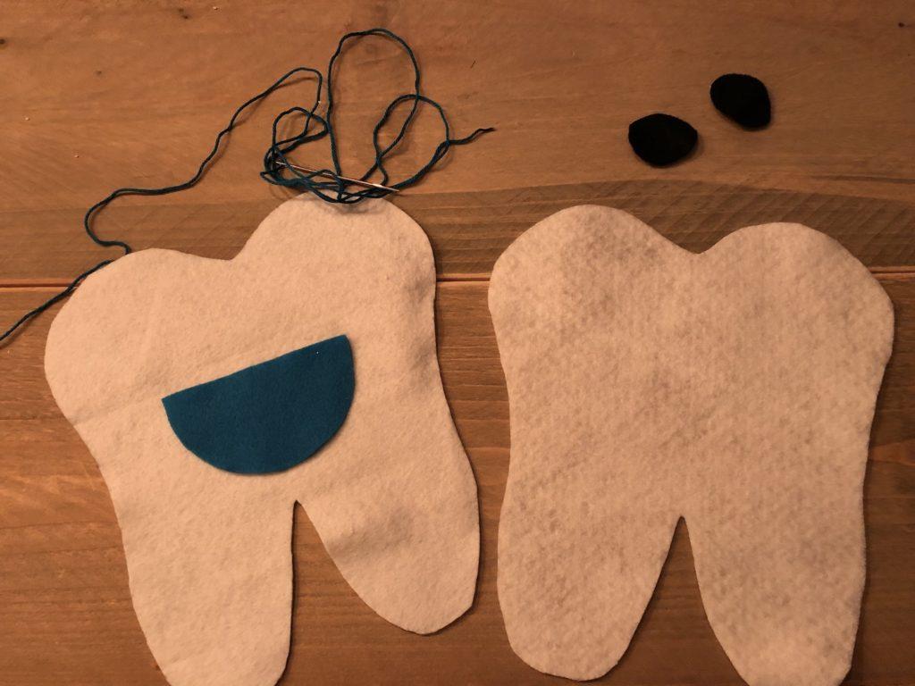 Tandenkussen materiaal