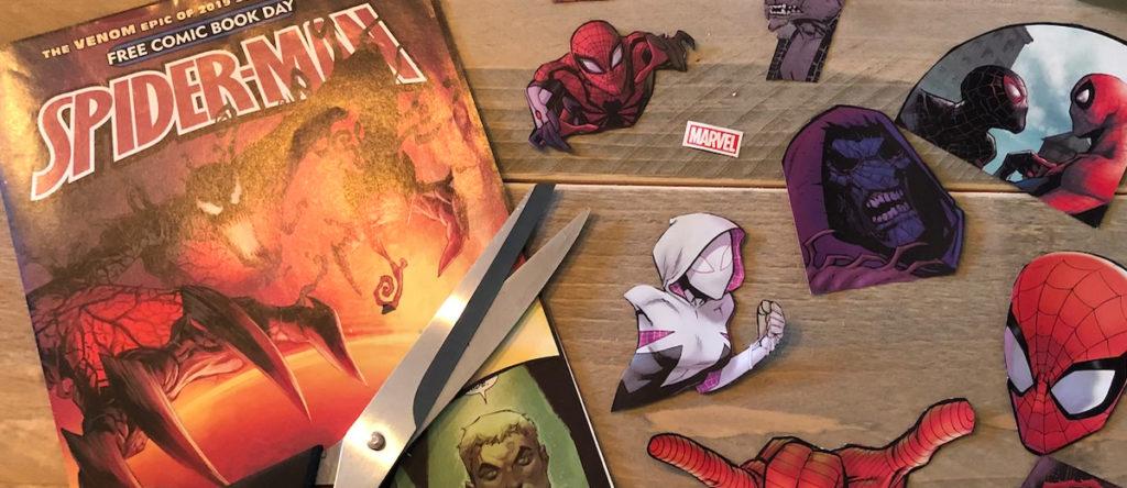 comic book knutsel