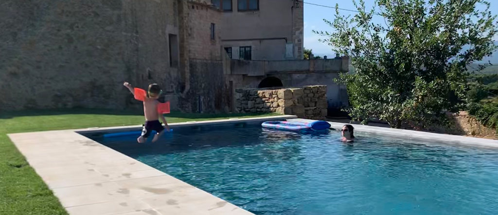 Springen Zwembad