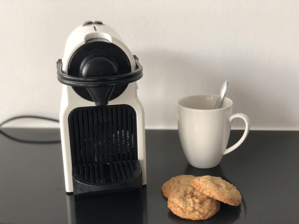 Vese koekjes met koffie