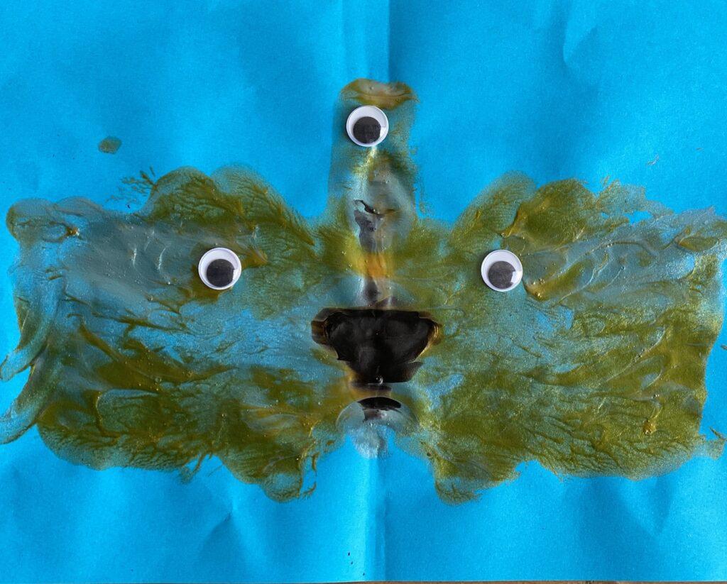 Drie ogen monster