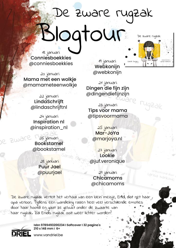 Blogtourkalender