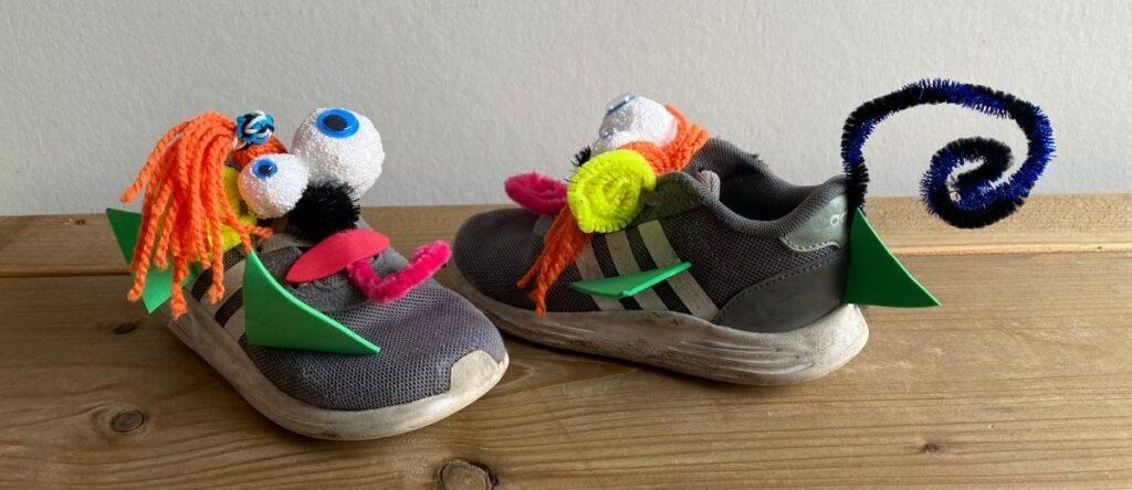 Gekke schoenen staart