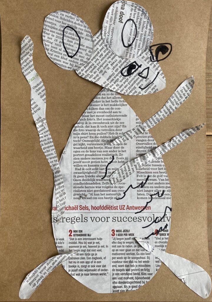 Kranten muis