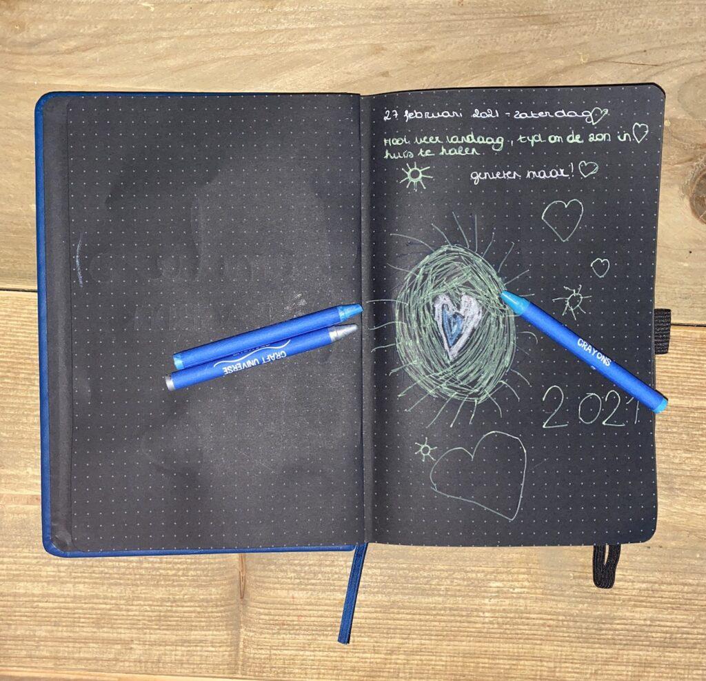 dagboekschrijfsels