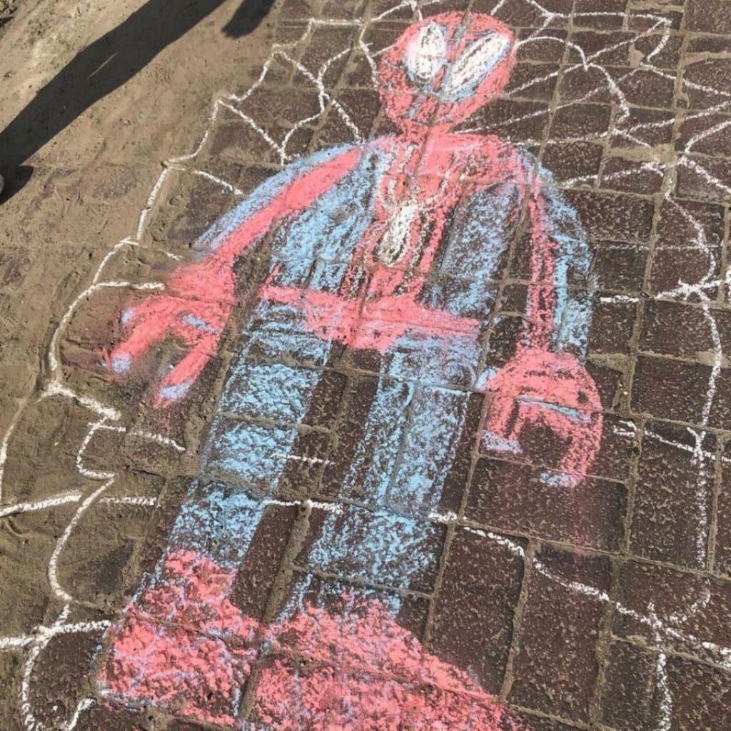 Krijt Spiderman Brady
